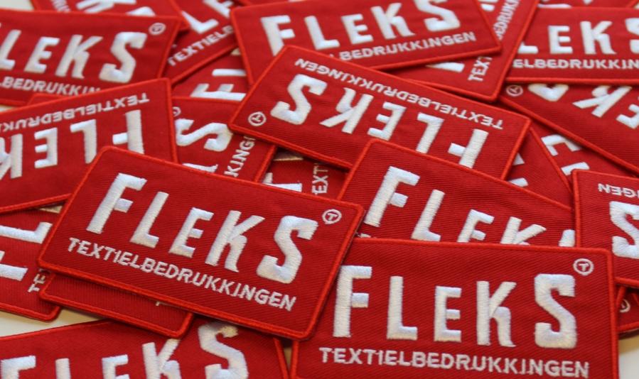 Flekstex geborduurde emblemen